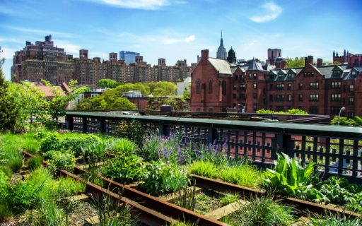 HIgh Line, urban public park, New York City, Manhattan