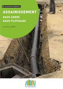 Couverture livre assainissement eaux usées, eaux pluviales